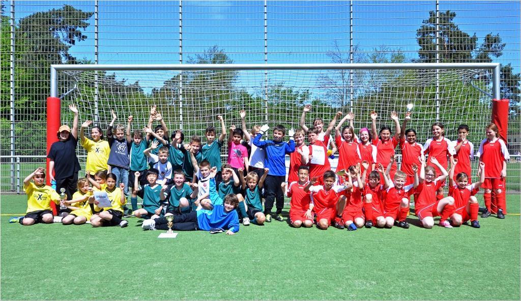 Fußballturnier der Langener Grundschulen 2012