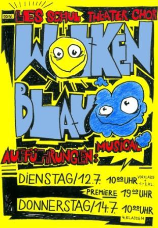 "Musical ""Wolkenblau"""
