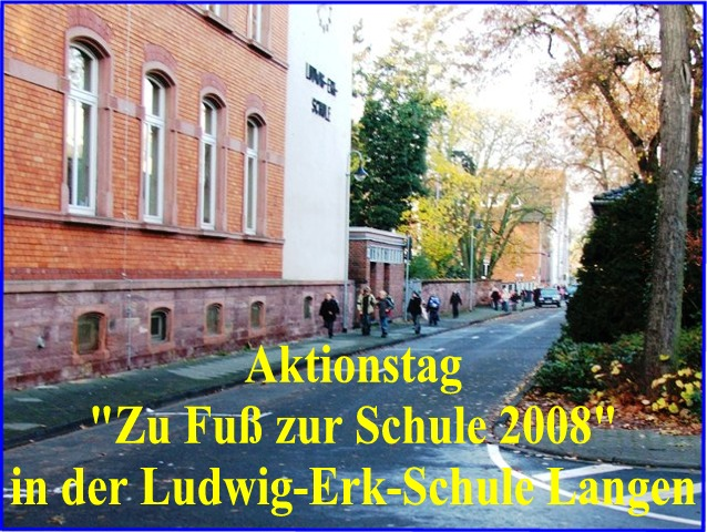 Eingang Bahnstraße zu Schulbeginn