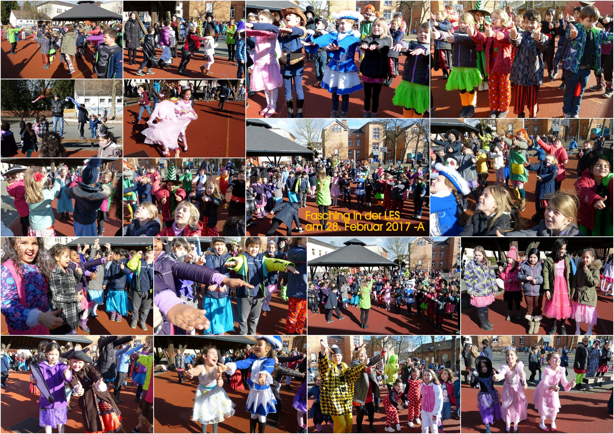 Fasching 2017 - Collage A