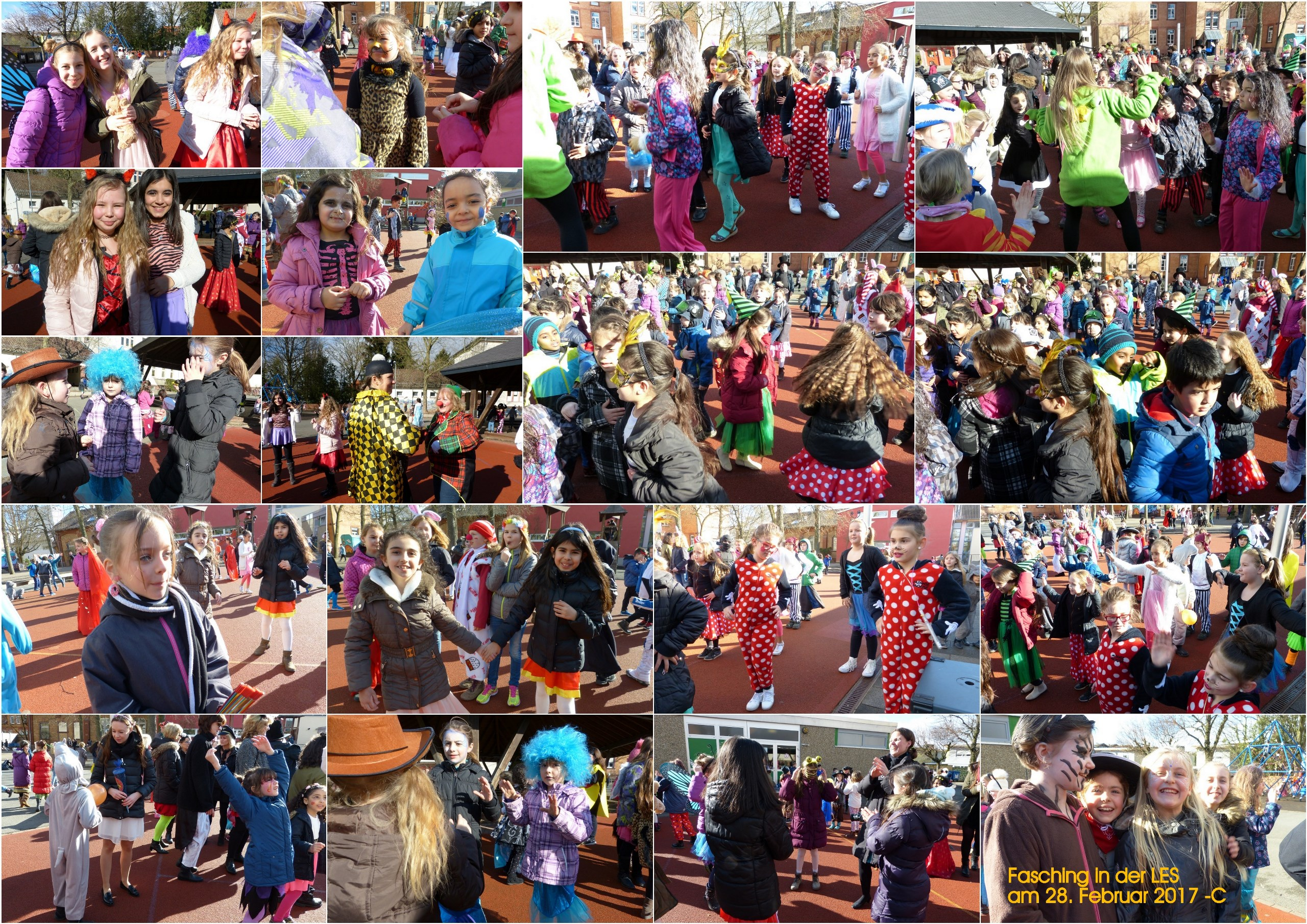 Fasching 2017 - Collage C
