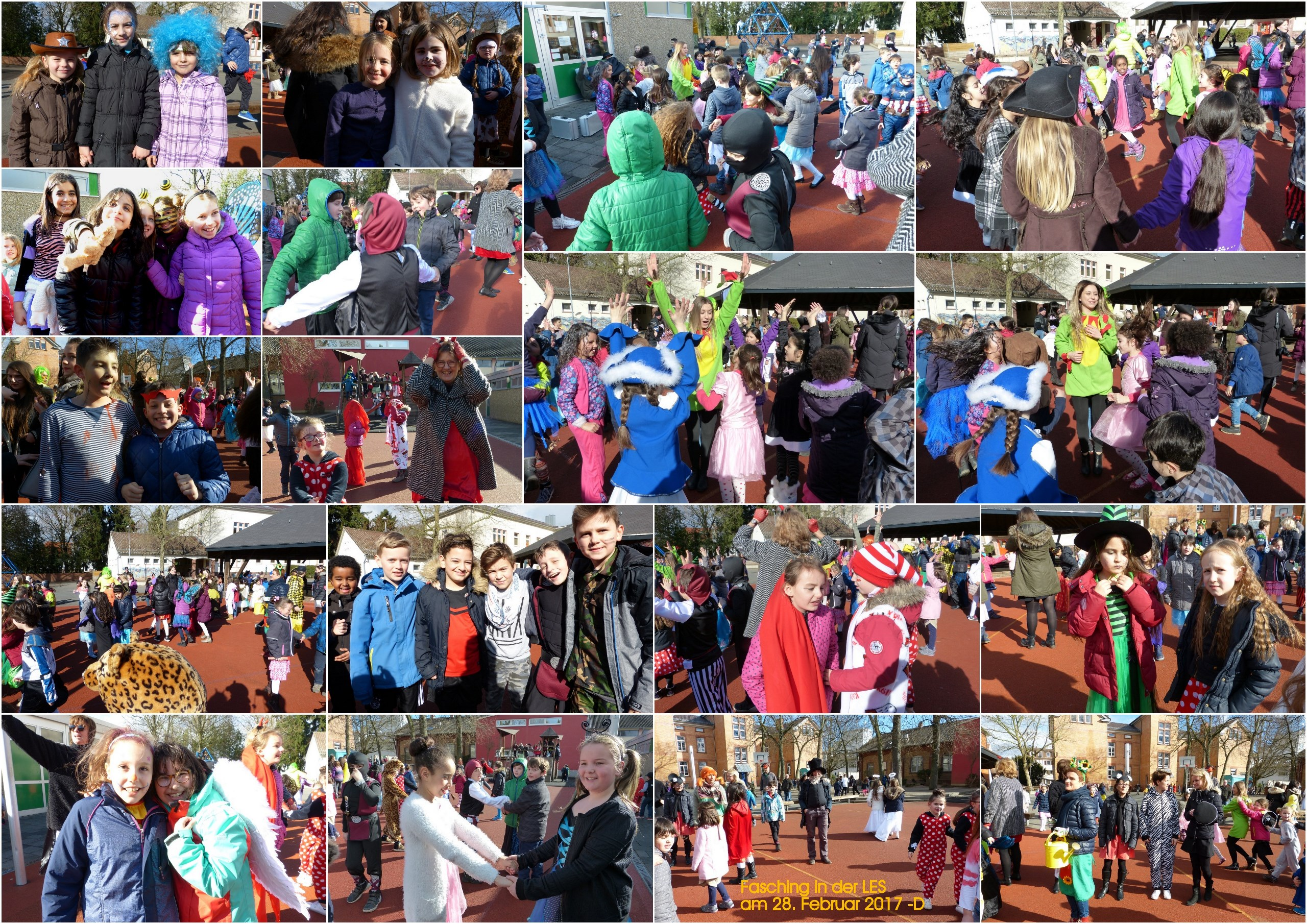 Fasching 2017 - Collage D