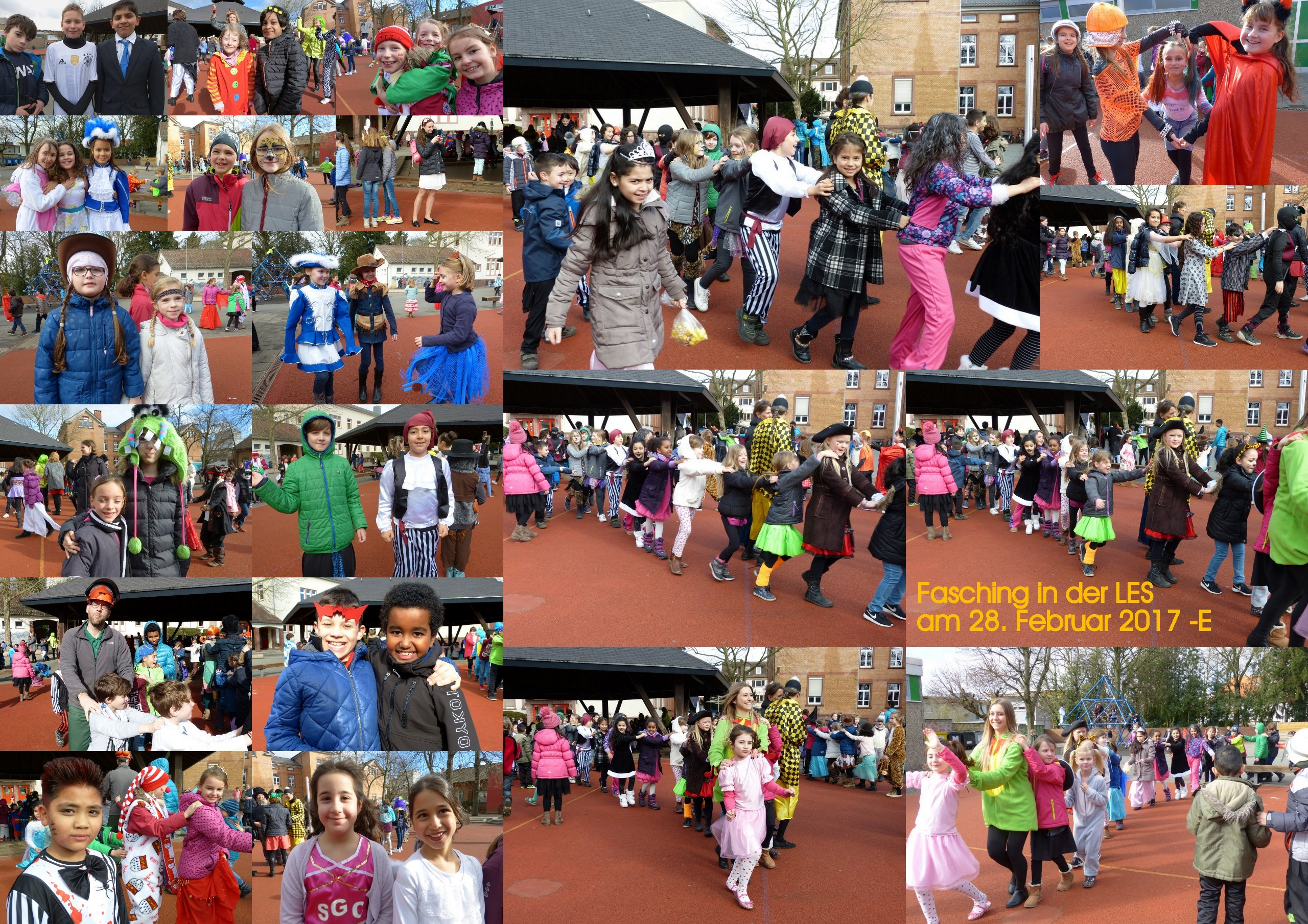 Fasching 2017 - Collage E