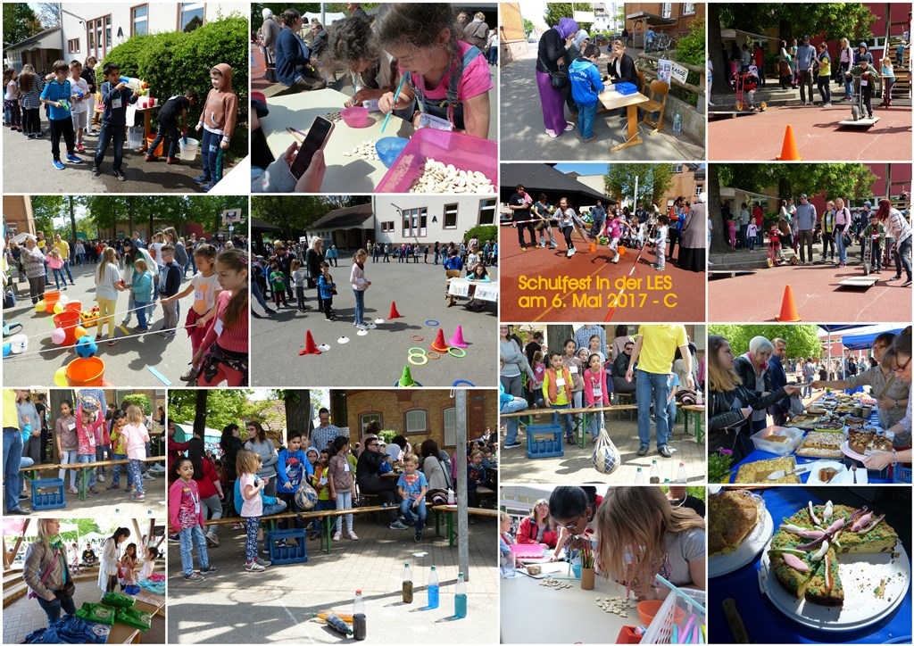 Schulfeste 2017 - Collage B